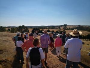 Pig Farmer Stuart Jonas gives a tour of Jonai Farms
