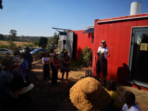 Tammi Jonas talks about the on-farm butchery at Jonai Farms