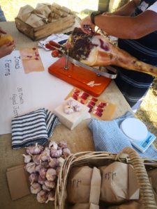 36-Month Aged Jamon stall at Farm Day Out!
